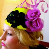Christie Millinery Designs by dream jobber Christie Stokes.